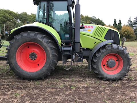 2009 Claas Axion Tractor Side