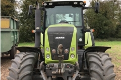 2009 Claas Axion Tractor Front